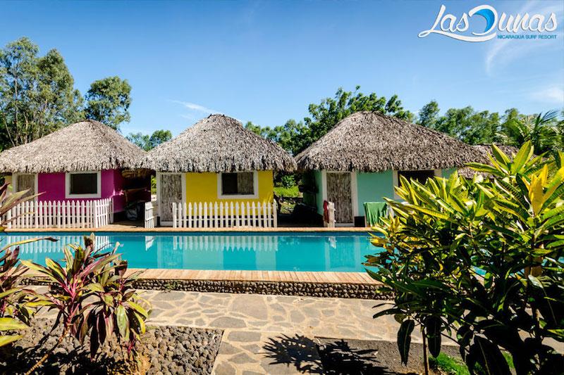 Las Dunas Surf Resort in Nicaragua