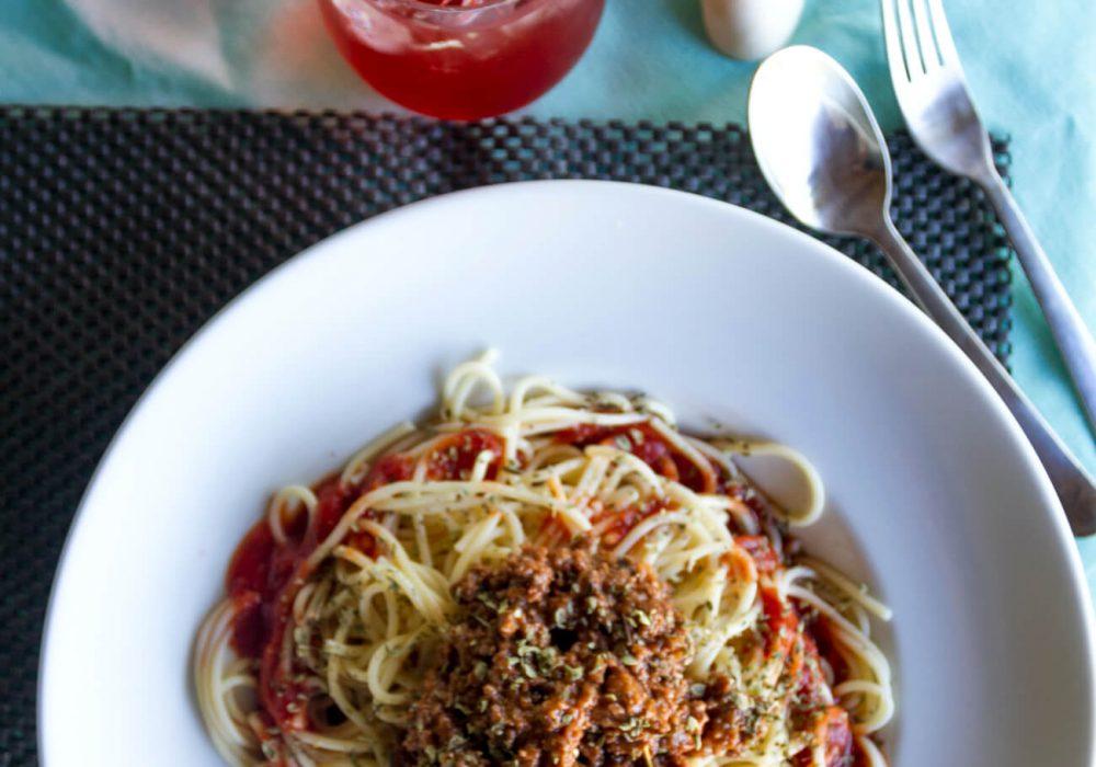bolognesa pasta
