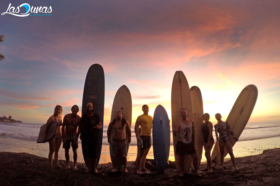 Surf trip with kids