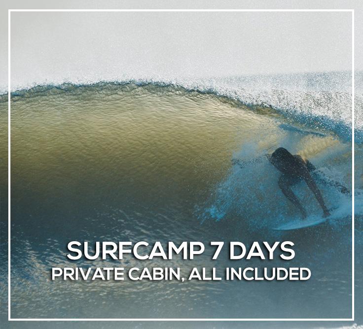 Surf hotel in Nicaragua