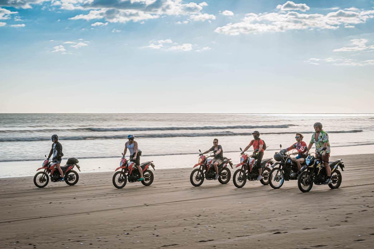 Motorbike trips in Aposentillo Las Dunas surf Resort