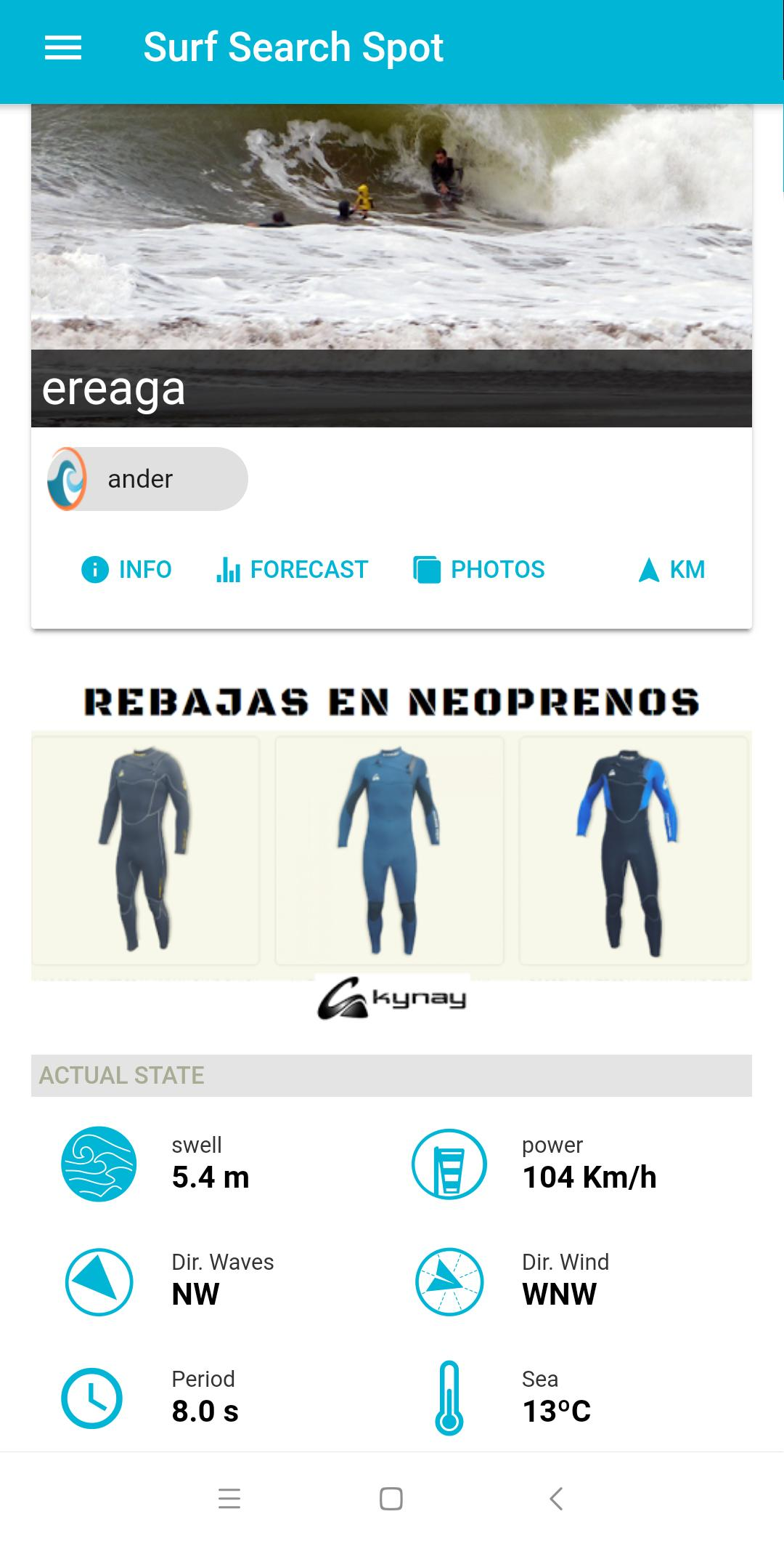Mobile apps for surfers surf search spot app