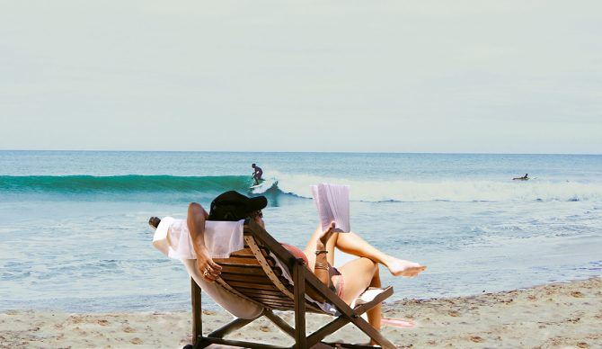 Habits of a surfer physical rest