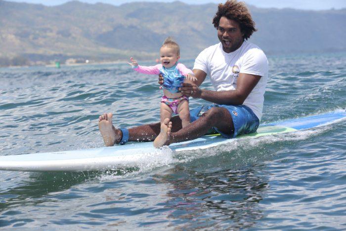 Surfing for children